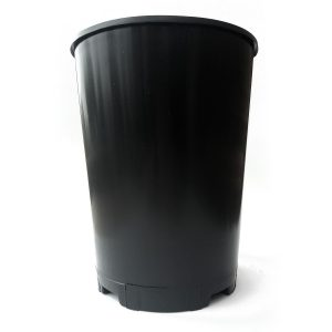 Deep Rose Pots Top Quality Durable Black Plastic Ideal For Deep Rooted Plants