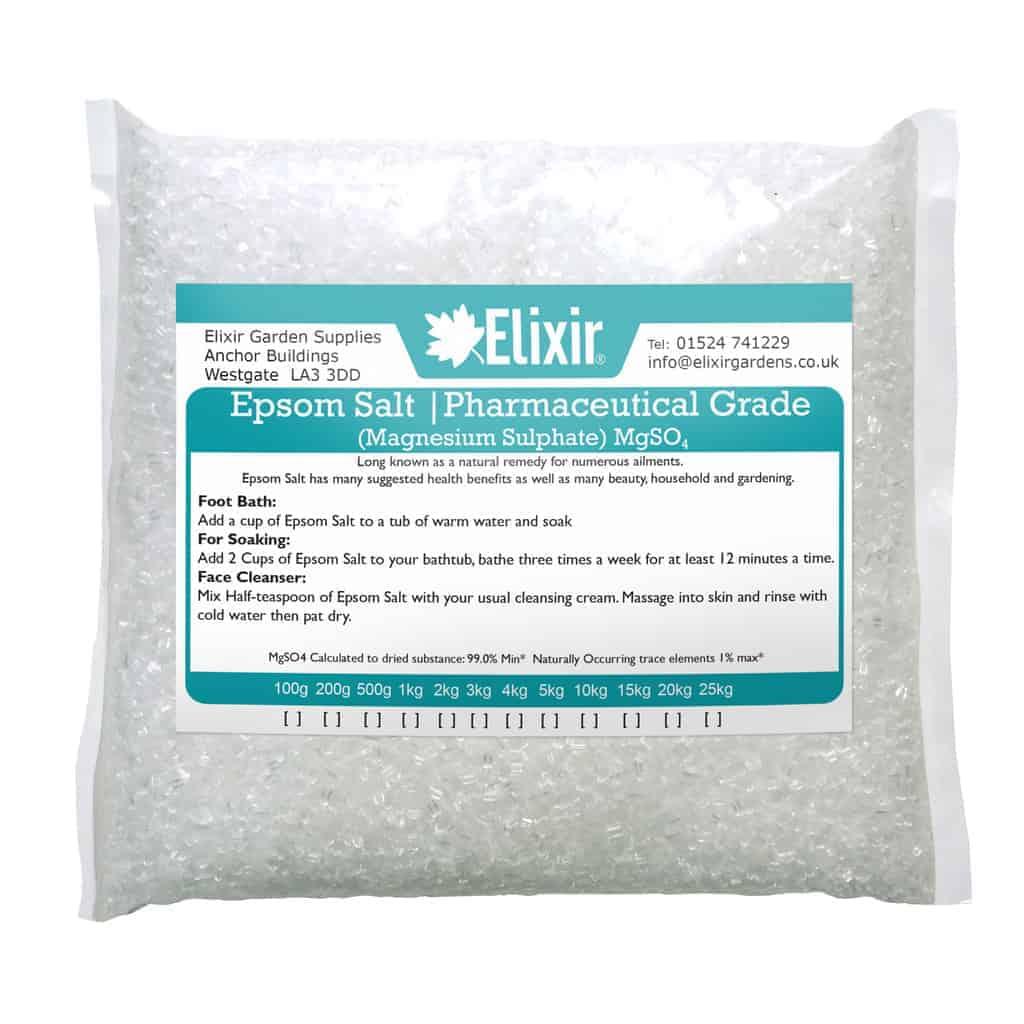 EPSOM BATH SALT / 100% ORGANIC or PHARMACEUTICAL GRADE