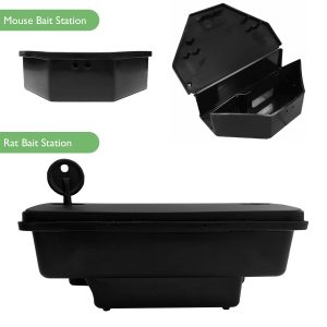 Rat Mouse Bait Station Boxes