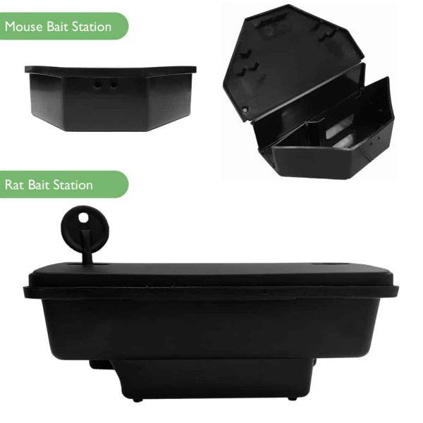 Rat Mouse Bait Station Boxes