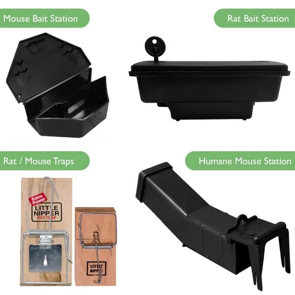 Rodent traps and bait stations rat trap mouse mice humane