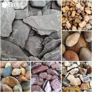 Blue Slate Decorative Stone Aggregate for Gardens