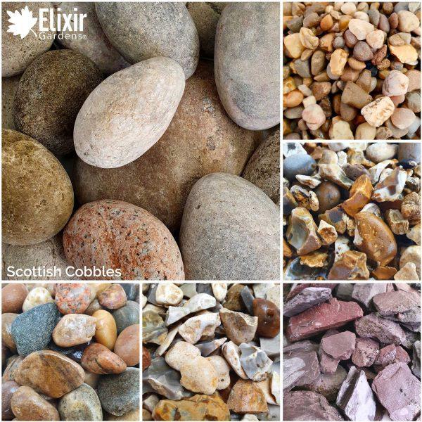 Scottish Cobbles Decorative Stone Garden Aggregate