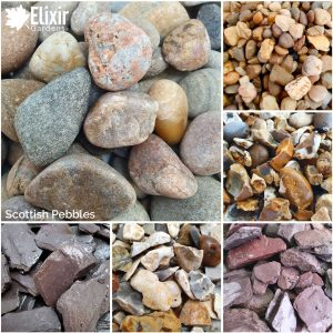 Scottish Pebbles Smooth Round Aggregate Decorative Stone
