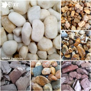 White Pebbles Decorative Stone for Garden