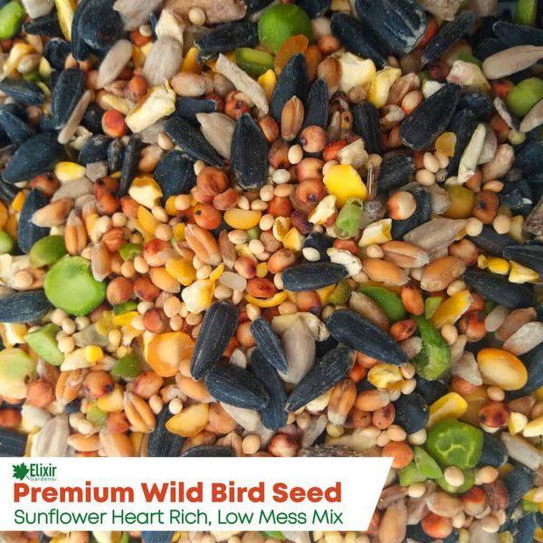 elixir wild bird food close up