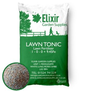 Lawn Tonic Fertiliser High Iron Content for Greener Grass