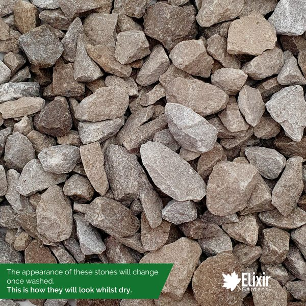 limestone gravel dry