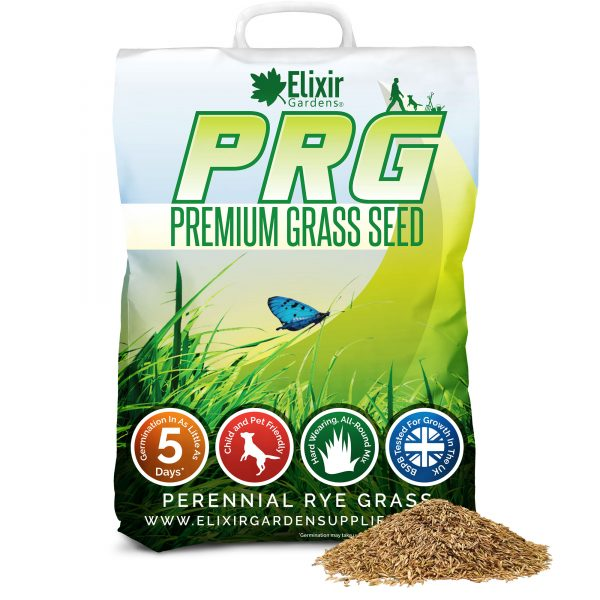 premium hard wearing grass seed for luscious green healthy lawns