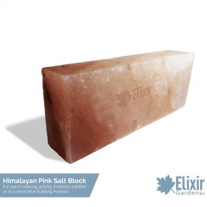 pink himalayan salt block for cooking, chopping, livestock feed or decoration